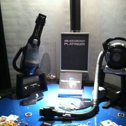 Black & Decker hand vac or flex vac from the company's new Platinum collection
