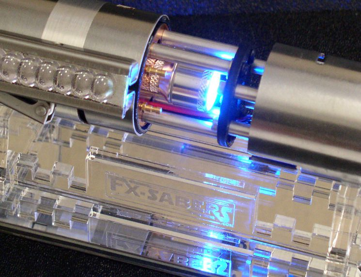 The greatest Star Wars lightsabers in the world are built by