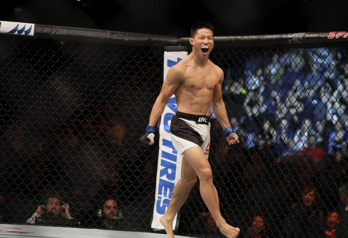 MMA: UFC Fight Night-Auckland Elliott vs Nguyen