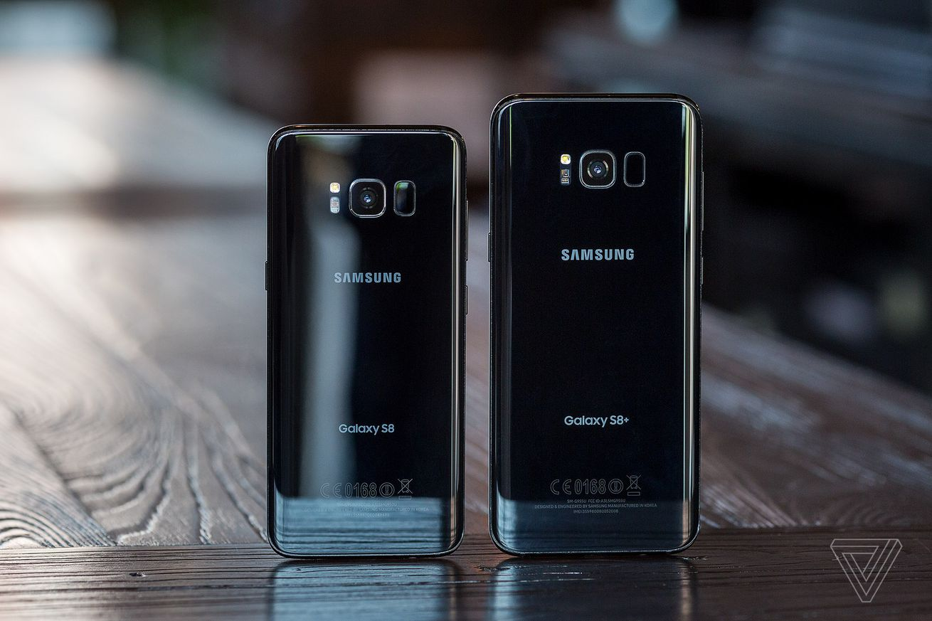 Samsung Galaxy S8 and Galaxy S8 Plus rear view