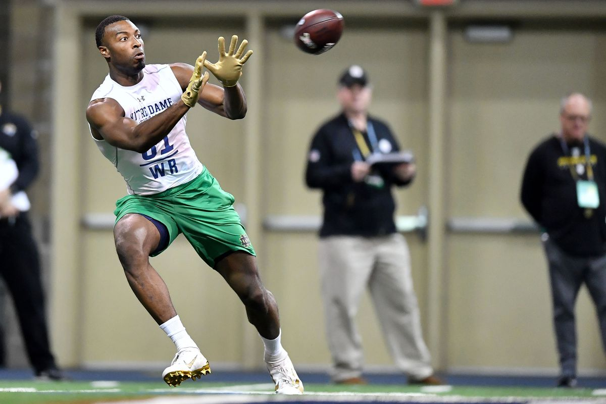 NCAA Football: Notre Dame Pro Day