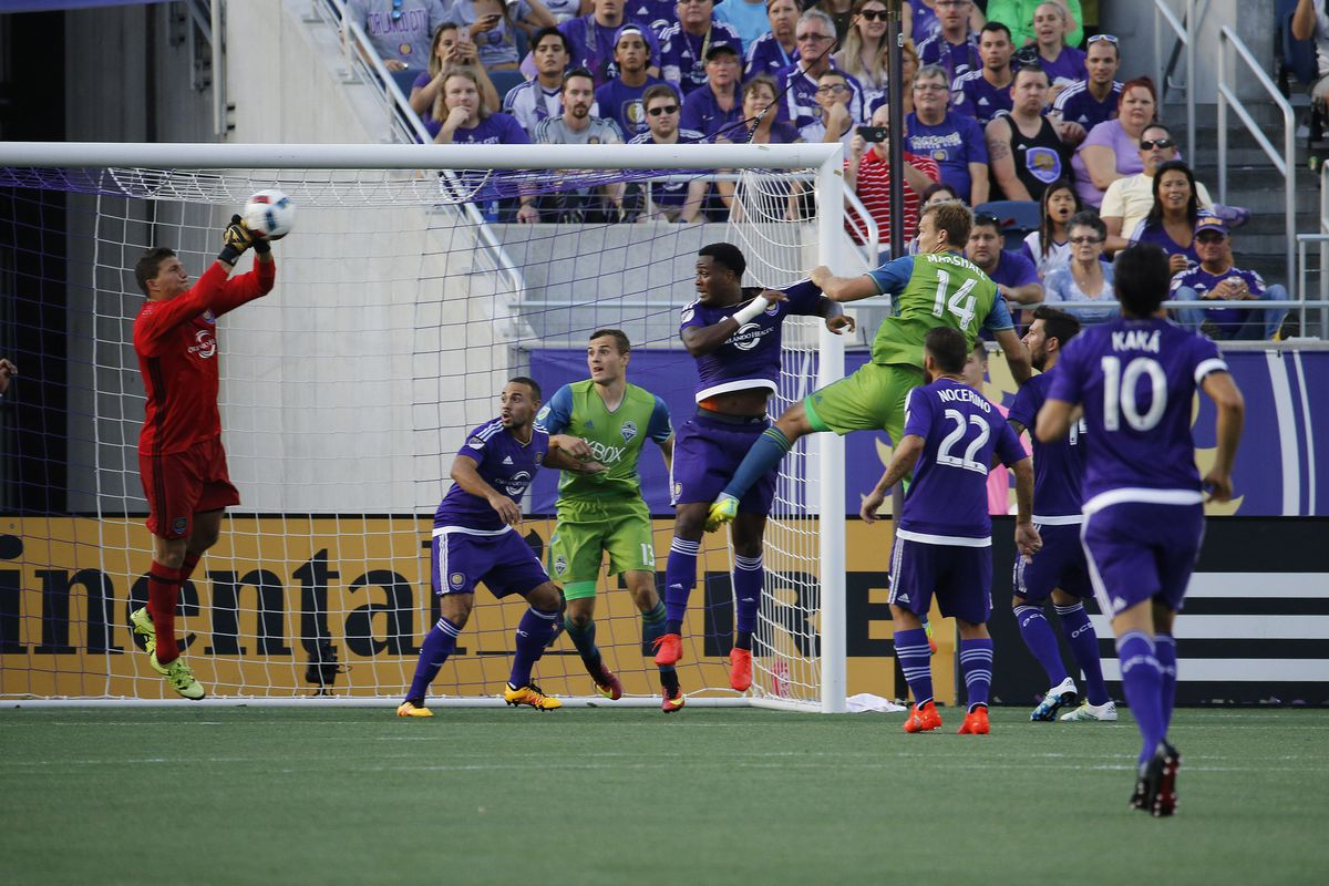 MLS: Seattle Sounders FC at Orlando City SC