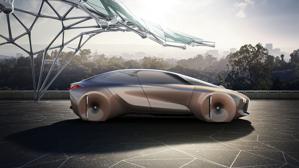 Bmw S Insane Car Of The Future Replaces Dashboards With Augmented Reality