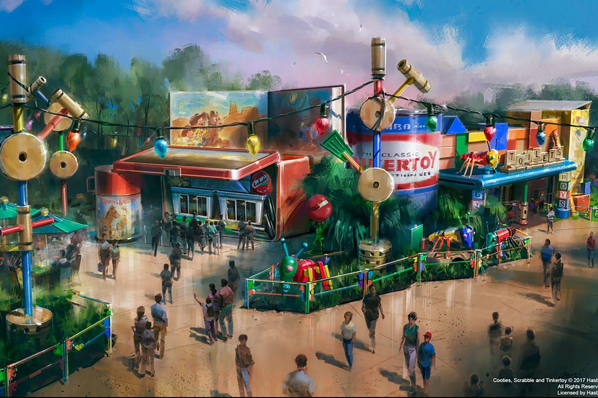 0b08078ebb5 Disney World Toy Story Land Is Getting a Restaurant  Woody s Lunch ...
