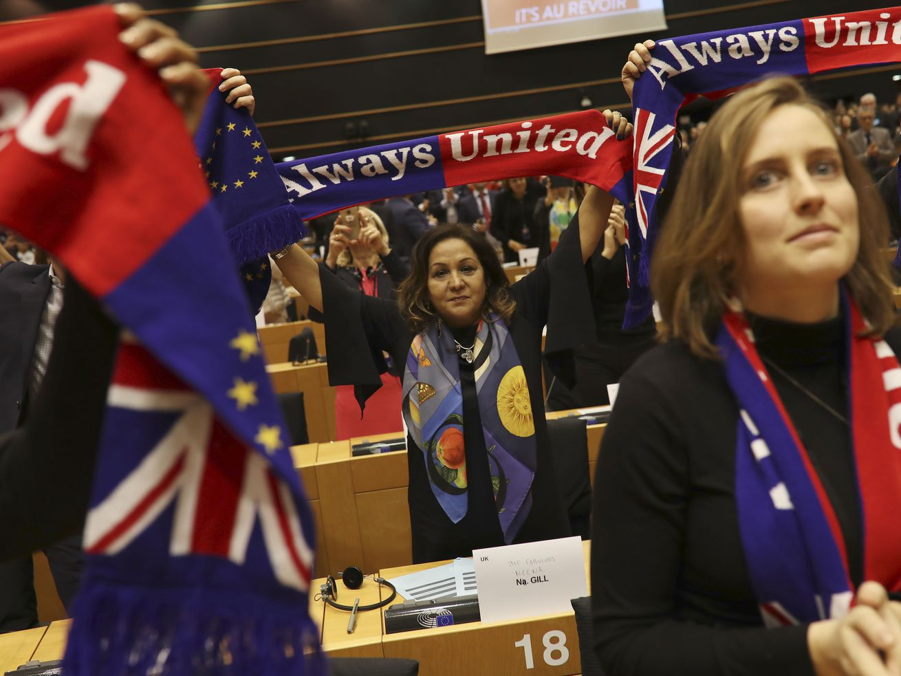 European Parliament approves Brexit; UK set to leave Friday