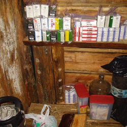 In this image released by King County Sheriff's Office and taken from the suspects hard-drive on Saturday, April 28, 2012 shows a bunker that deputies say belongs to a man suspected of killing his wife and daughter.  After a 22-hour standoff, police blew the top off the rugged mountain bunker near Seattle on Saturday, only to find their target dead of a self-inflicted gunshot wound inside. Authorities had not positively identified the body as 41-year-old Peter Keller, who hadn?t been seen since his wife and daughter were found shot to death last weekend, King County sheriff?s Sgt. Katie Larson said.  (AP Photo/King County Sheriff's Office)