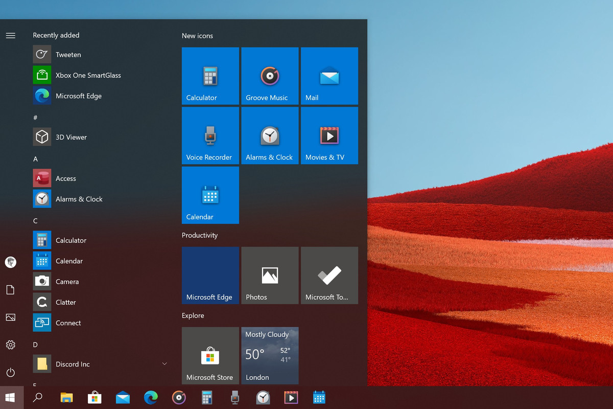 Microsoft Rolls Out Colorful New Windows 10 Icons The Verge