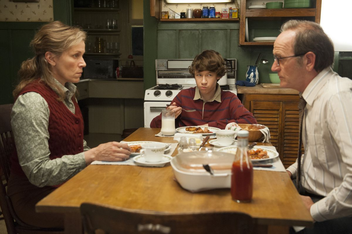 HBO's great new miniseries Olive Kitteridge follows the lives of small town citizens in Maine.
