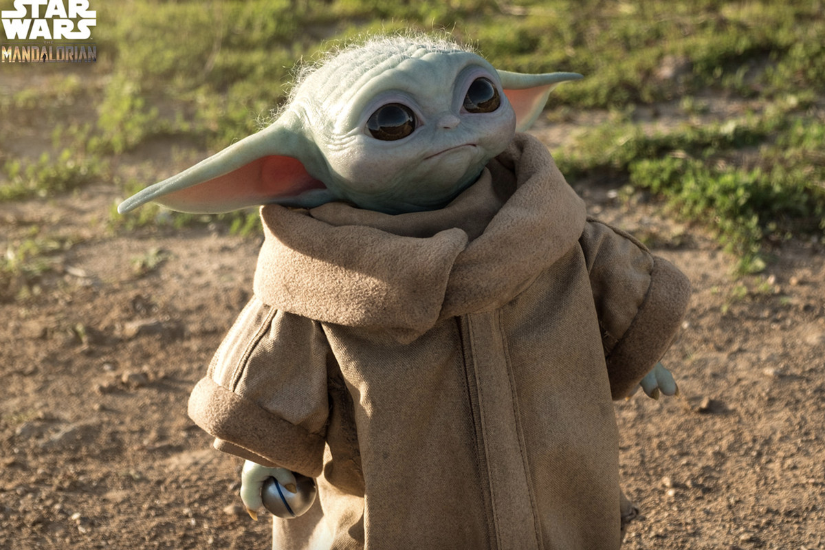 You Can Now Own A Life Sized Screen Accurate Baby Yoda Figure For 350 The Verge