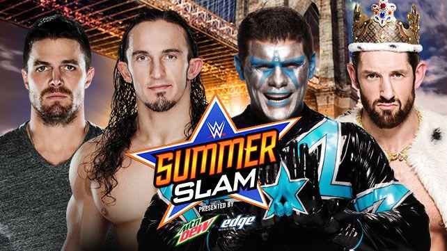 WWE SummerSlam Arrow Stardust