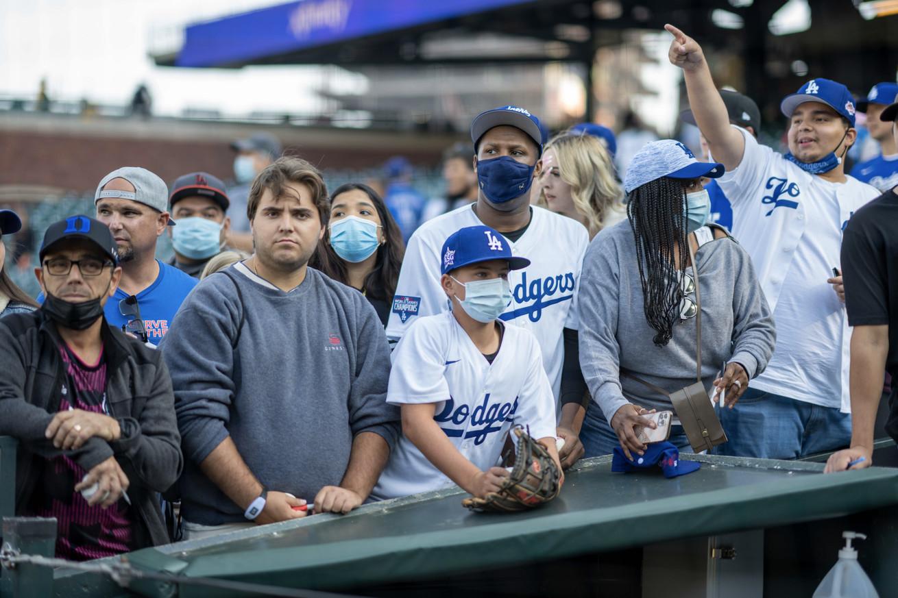 Los Angeles Dodgers vs. San Francisco Giants, September 3, 2021