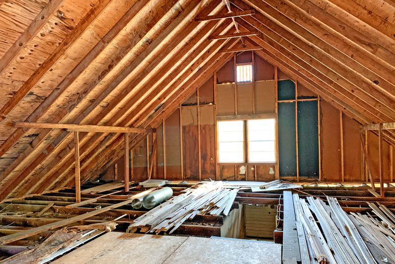 Save This Old House in Water Valley, MS, unfinished attic, July/Aug 2020