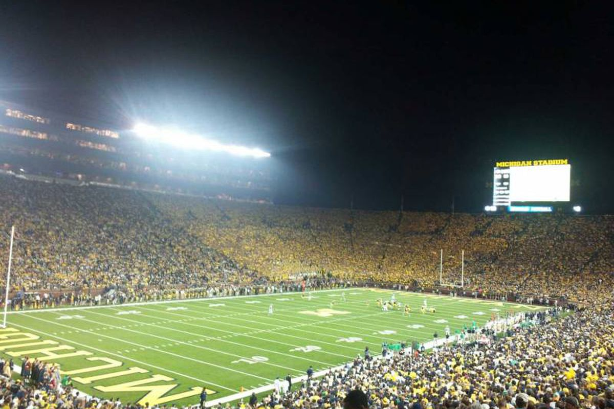 No student boycott as the Wolverines beat   *wipes away tear*   ttfp