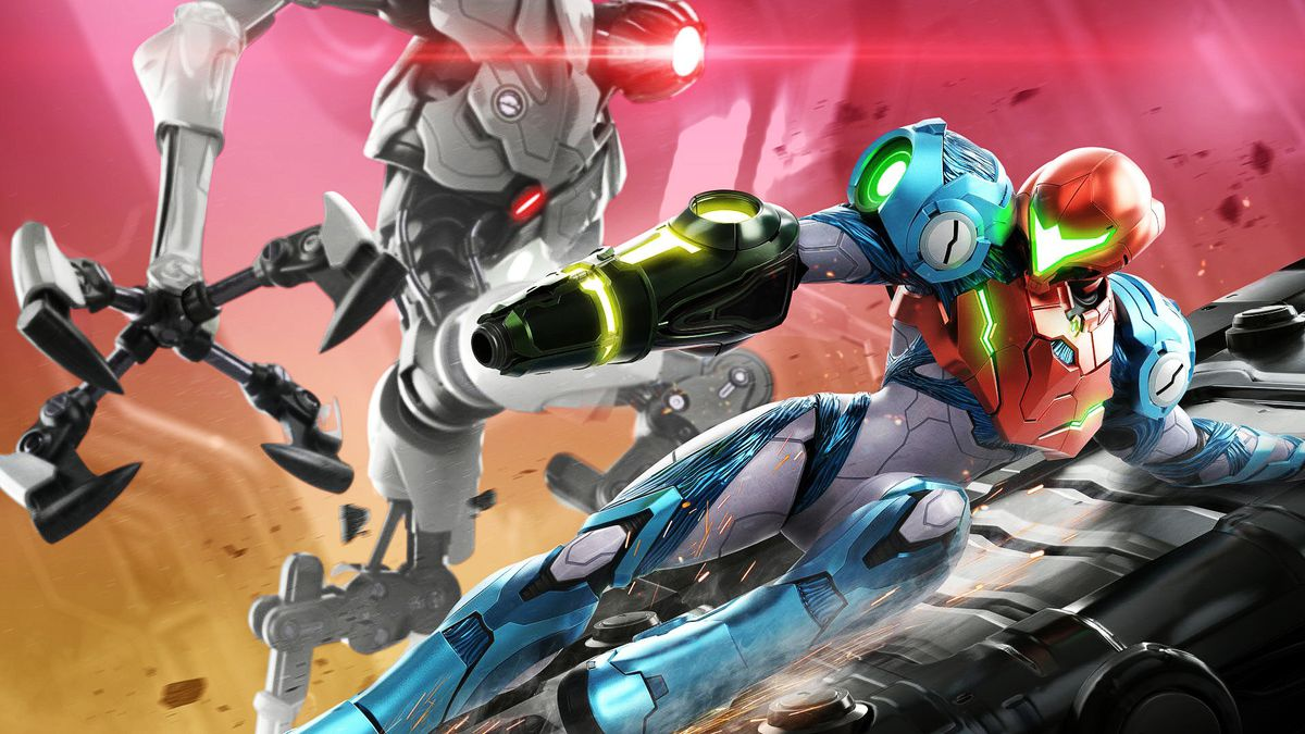 Art from the Metroid Dread video game