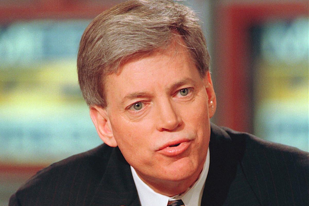 Former KKK leader David Duke, during a 1999 appearance on Meet the Press.
