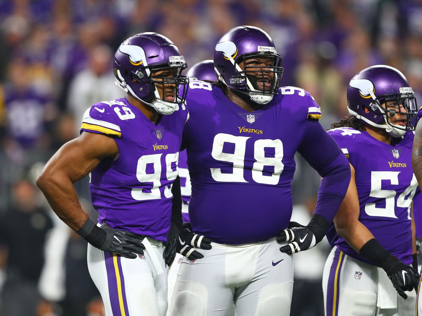 timeless design c82ad e6270 Handicapping the Vikings Defensive Linemen - Daily Norseman