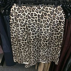 Pony hair skirt, size 8, $369 (was $1,195)