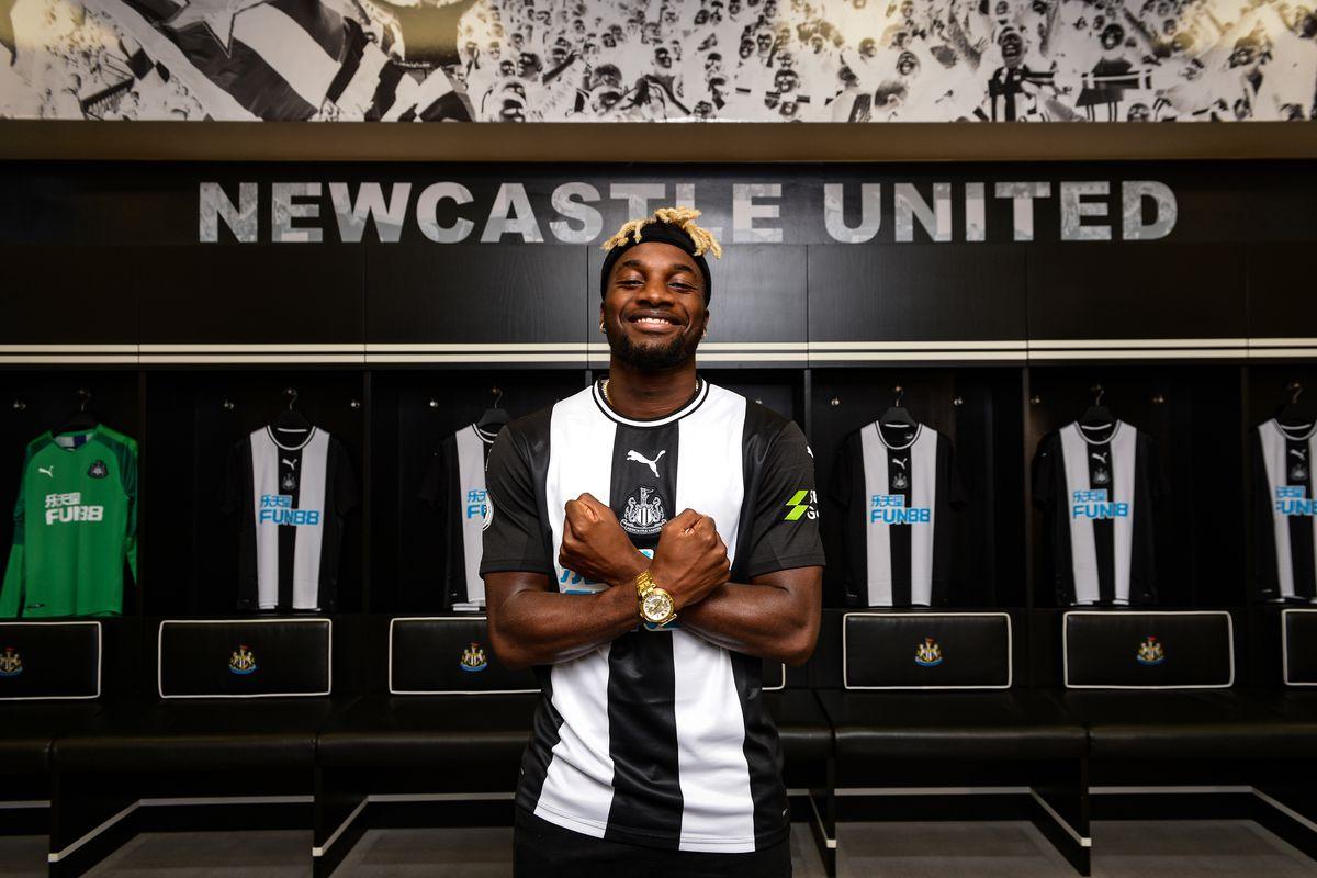 Newcastle United Unveil New Signing Allan Saint-Maximin