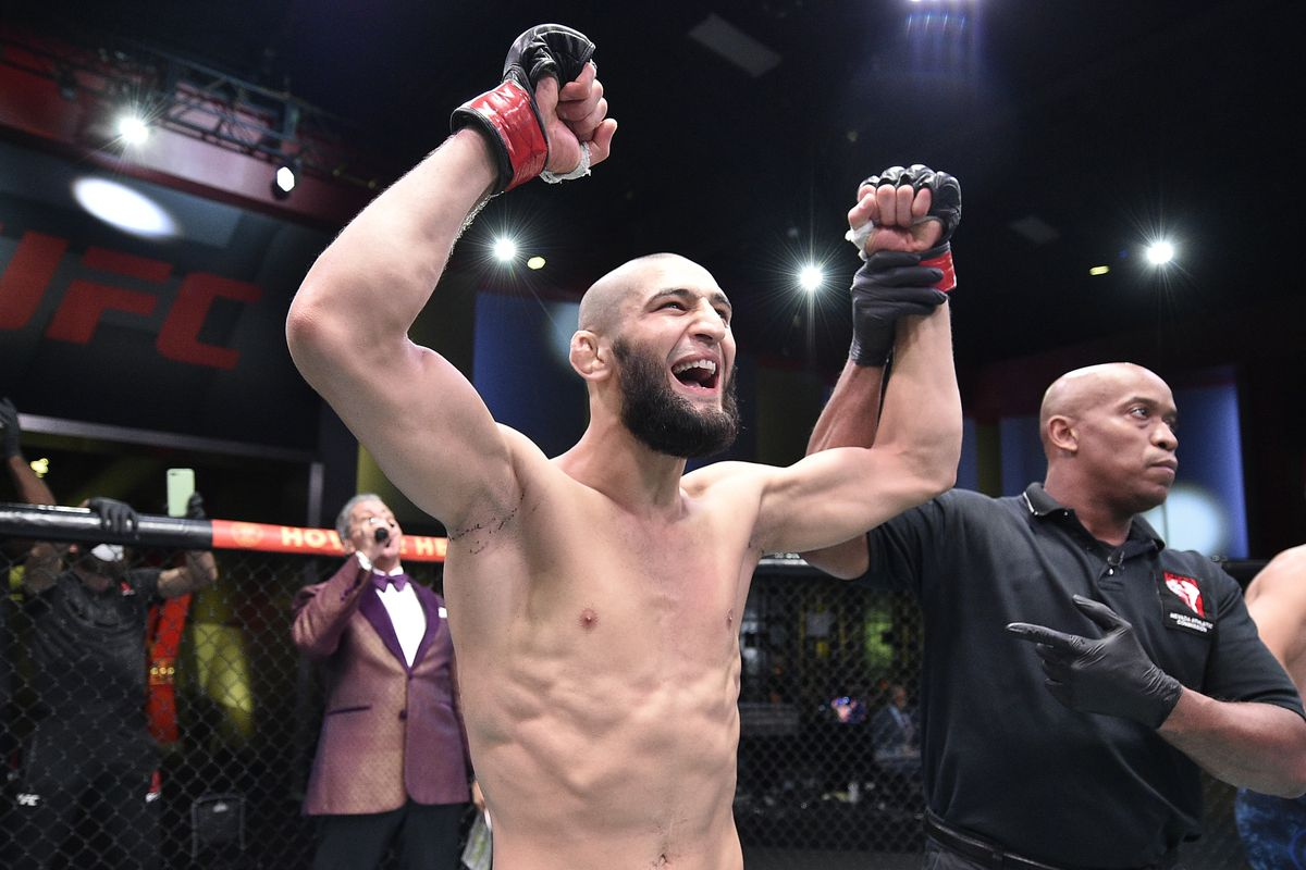 Khamzat Chimaev vs Leon Edwards rebooked for UFC Fight Night event on Jan. 20 - MMAmania.com