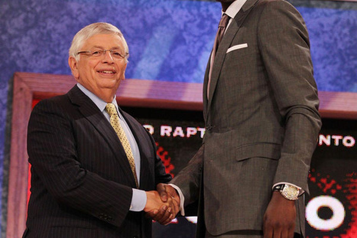 The Toronto Raptors snatched up North Carolina's Ed Davis with the 13th pick last night.