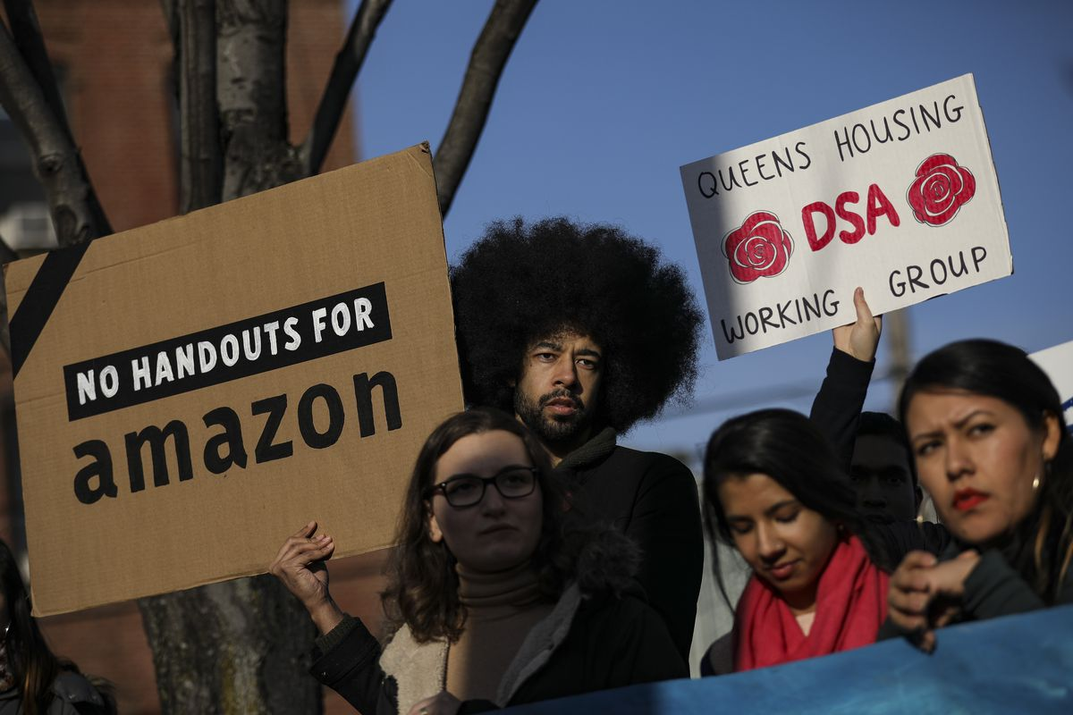 After Local Opposition, Amazon Cancels Plans For Major Campus In New York