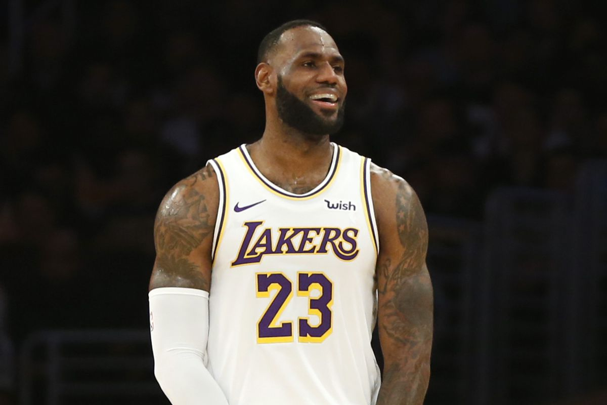 LeBron James calls all Lakers 'an MVP in their role,' and he's 'happy as hell' to be on team