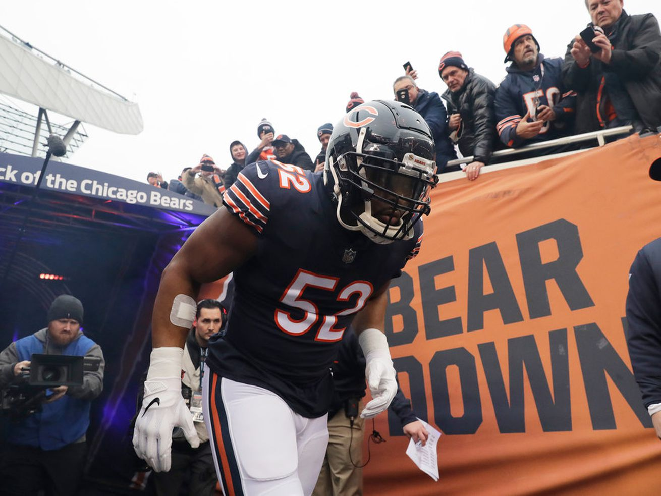 Khalil Mack earns perfect '99' rating to lead Bears in 'Madden NFL 20'
