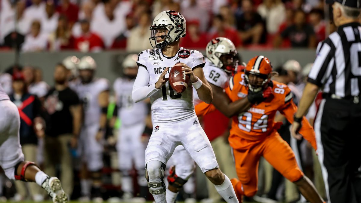COLLEGE FOOTBALL: OCT 10 Syracuse at NC State