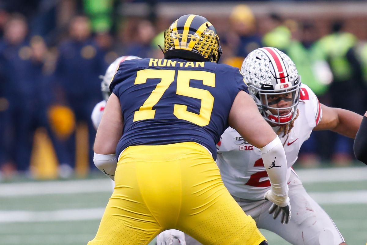Packers select Michigan OL Jon Runyan, Jr. with 192nd pick ...