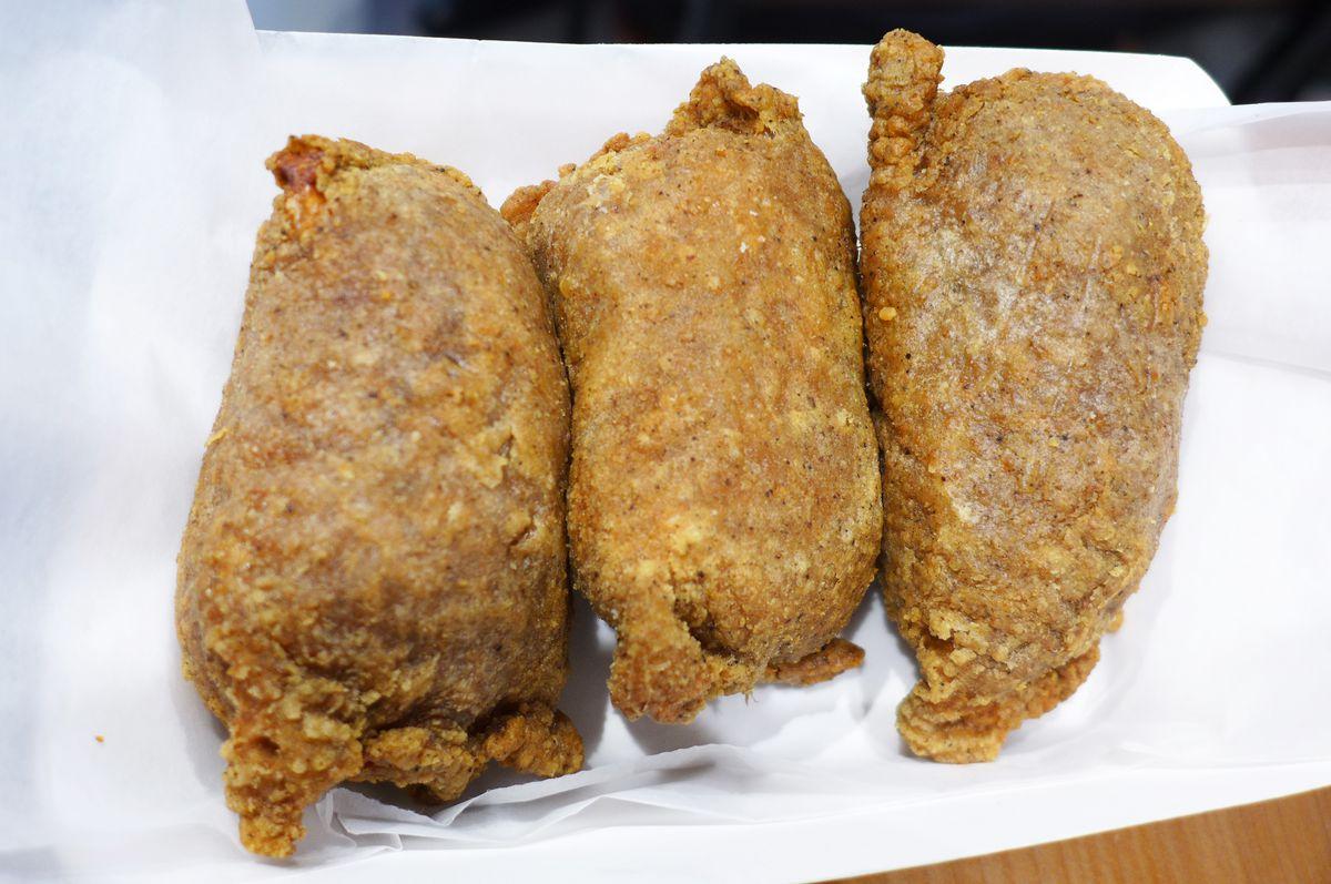 Two or three kwa kwa bao make a meal.
