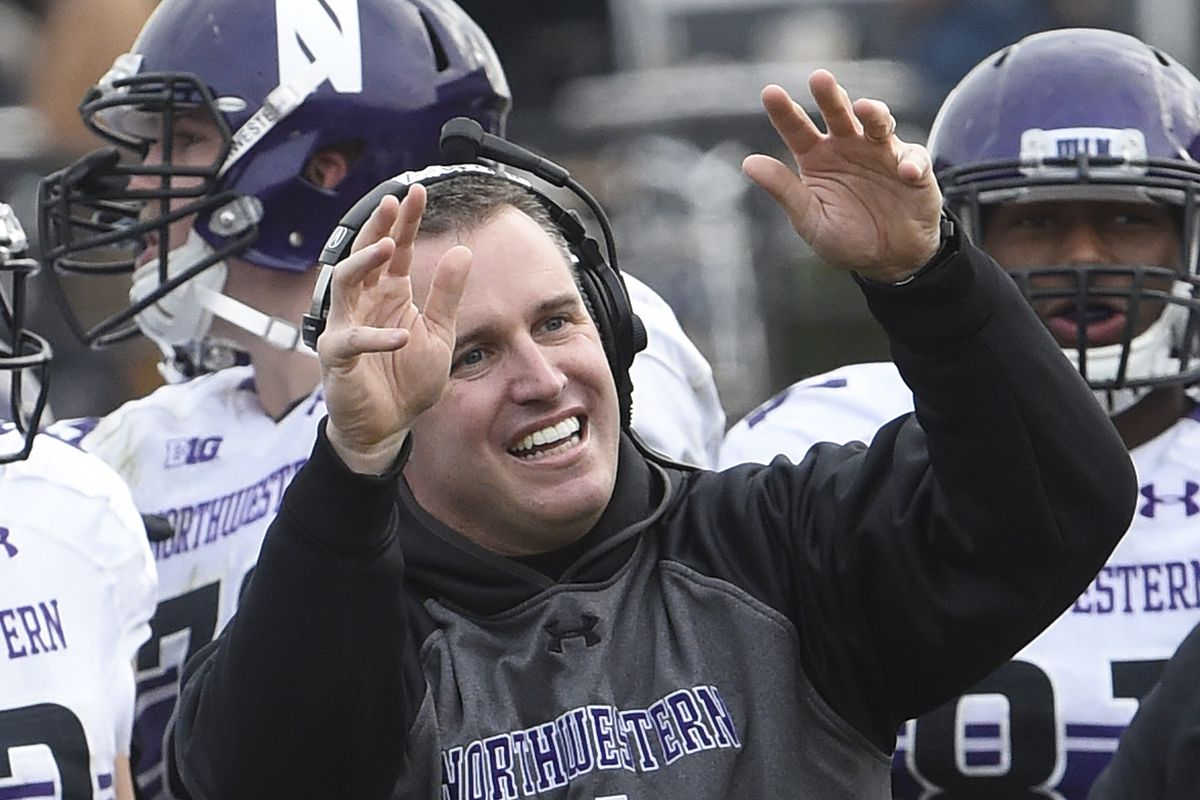 whoa something is divebombing pat fitzgerald, duck and cover, pat, duck and cover!
