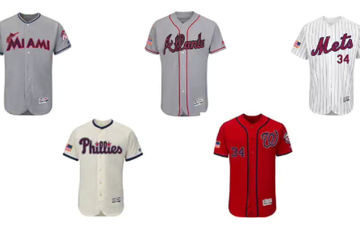Washington Nationals Special Holiday Uniforms unveiled - Federal ...