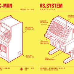 'Ms. Pac-Man' and Nintendo Vs. System