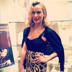 Footwear designer (and retro style enthusiast) Charlotte Olympia