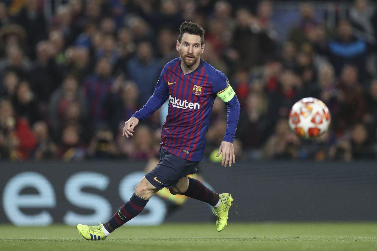 Fc Barcelona V Olympique Lyonnais Uefa Champions League Round Of  Second Leg