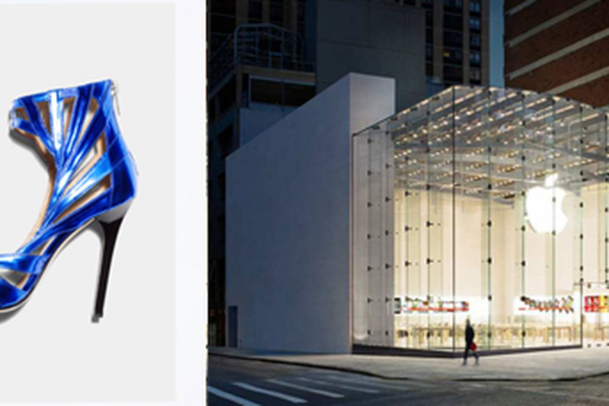 Jimmy Choo via H&M; Apple store via Apple