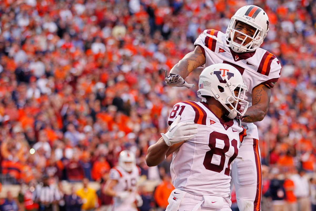 The Hokies will storm into Heinz Field later this year (Photo by Geoff Burke/Getty Images)
