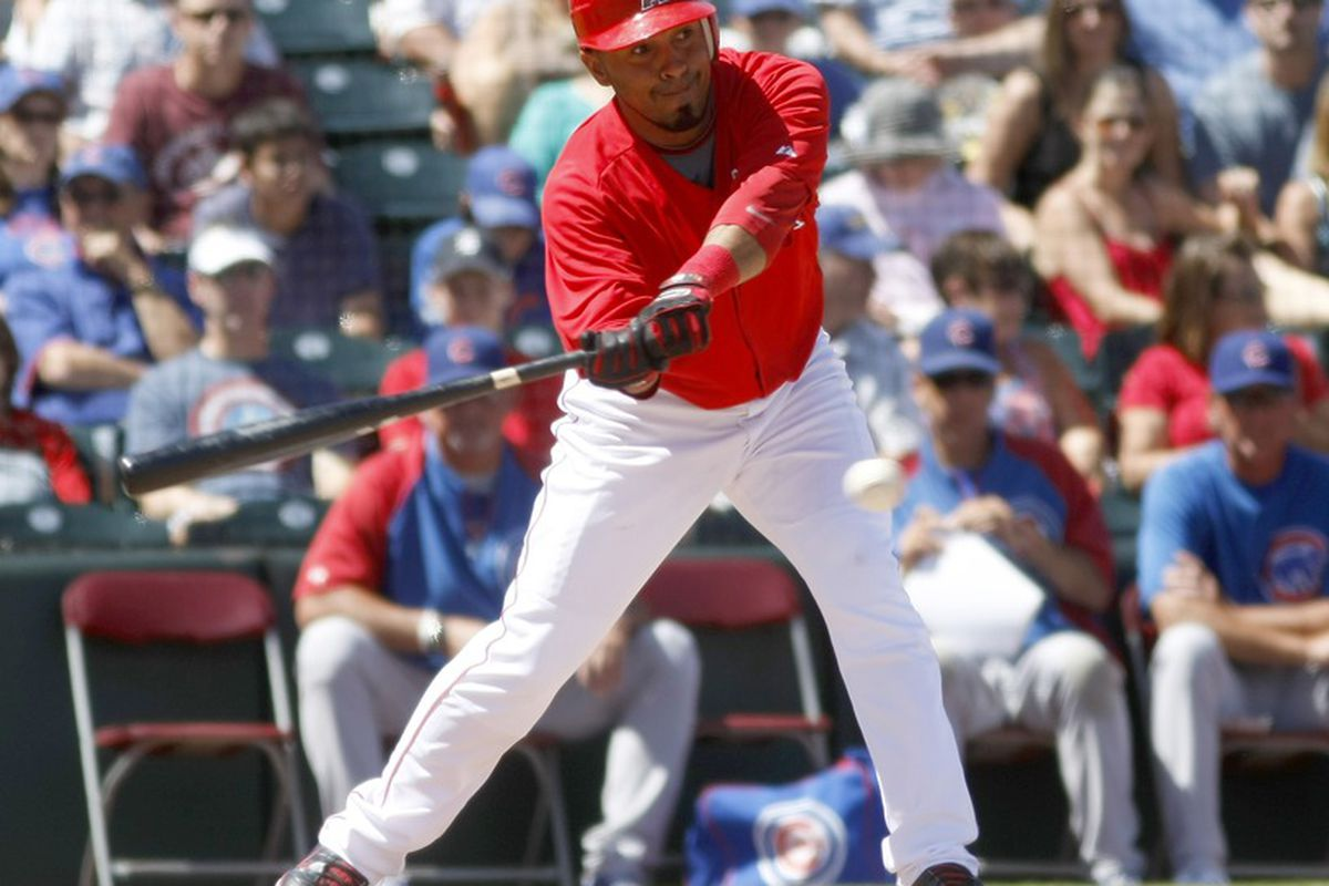 2012 will be the 8th season on the 25-Man Angels roster for the Mice Man Maicer Izturis!