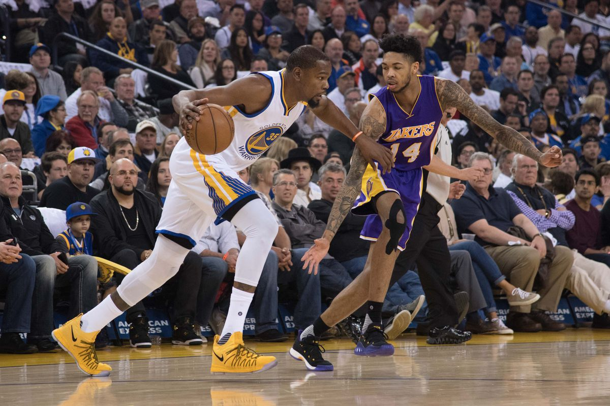 f3264b70e780 Lakers News  Kevin Durant says people comparing Brandon Ingram to him is   flattering