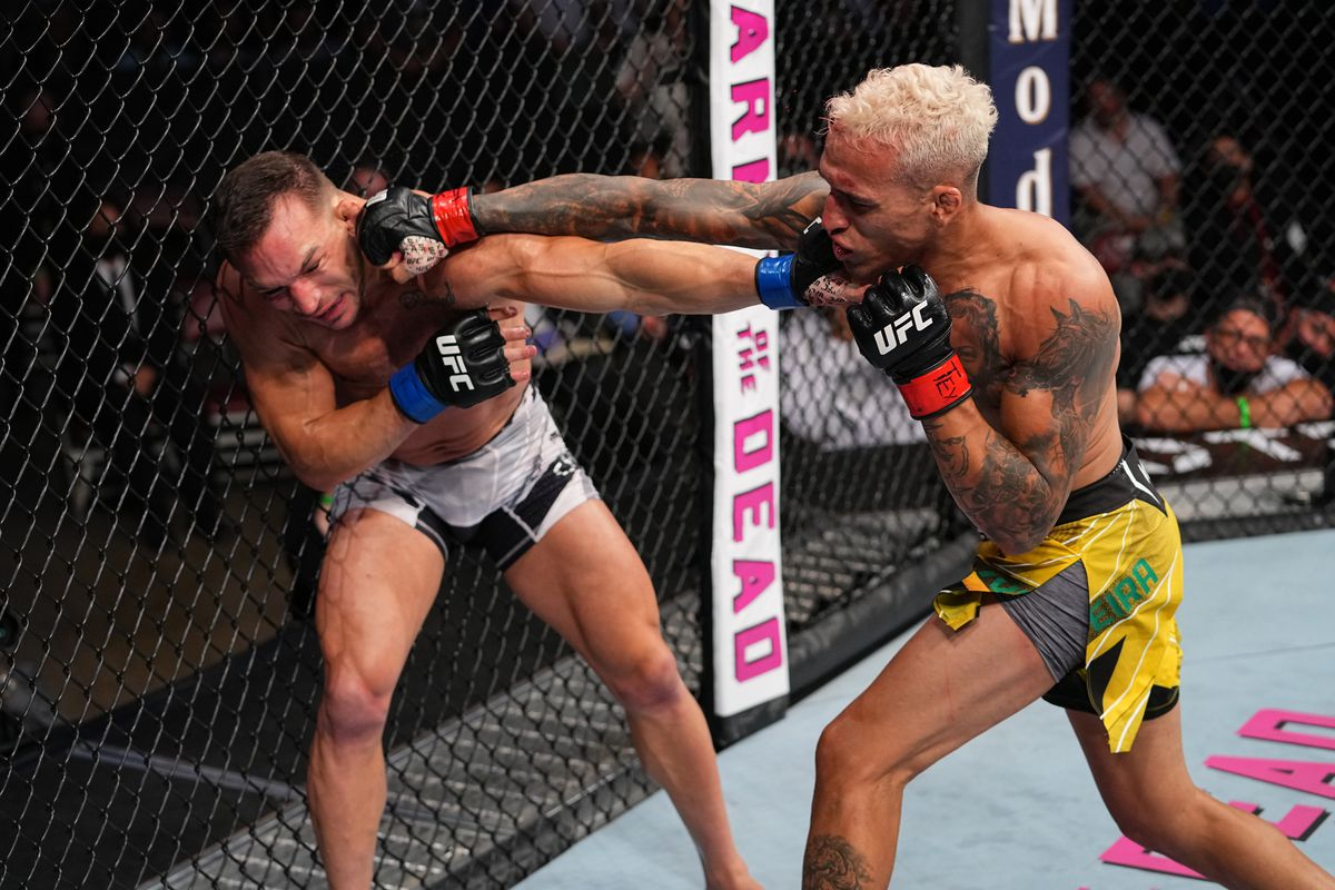 Here's everything that happened at UFC 262 last night - MMAmania.com