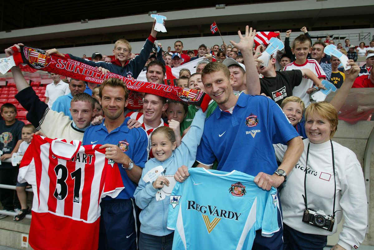 Sunderland New Signings - Marcus Stewart & Tore Andre Flo