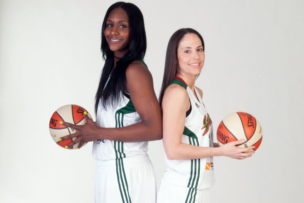 Crystal Langhorne and Sue Bird have both signed new deals with the Storm this month
