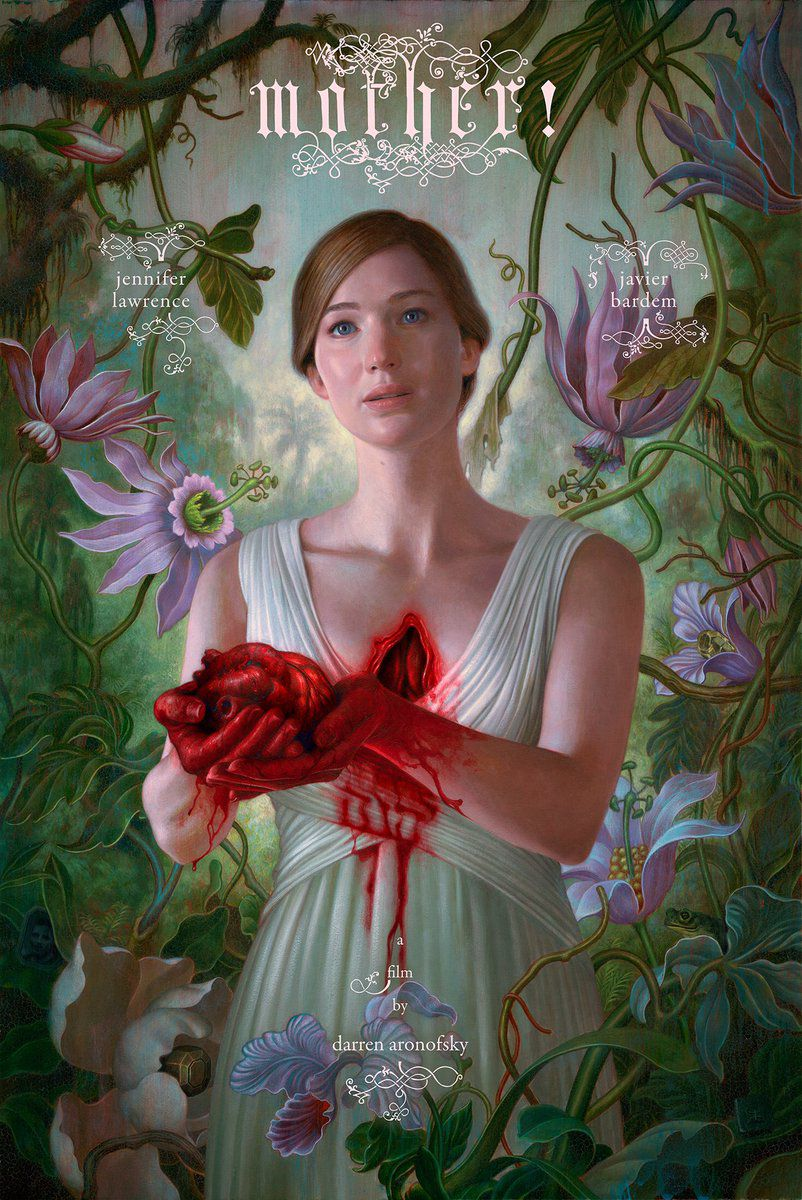 The first poster for Mother!