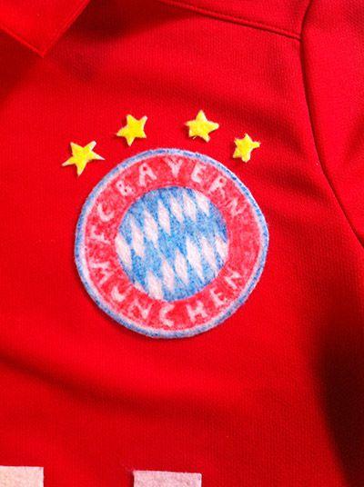 f58de1f193a This dad loves Bayern Munich so much... he made his son a homemade ...