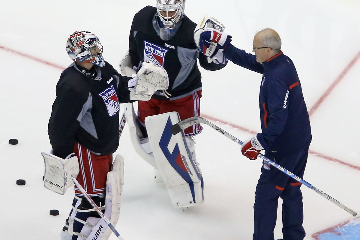 2014 NHL Stanley Cup Final - Practice Sessions