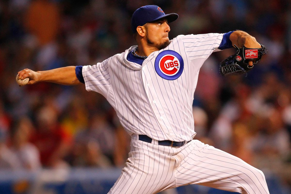 Matt Garza did a bunch of Garza-y things last night. He's probably going to do those things in another uniform soon.