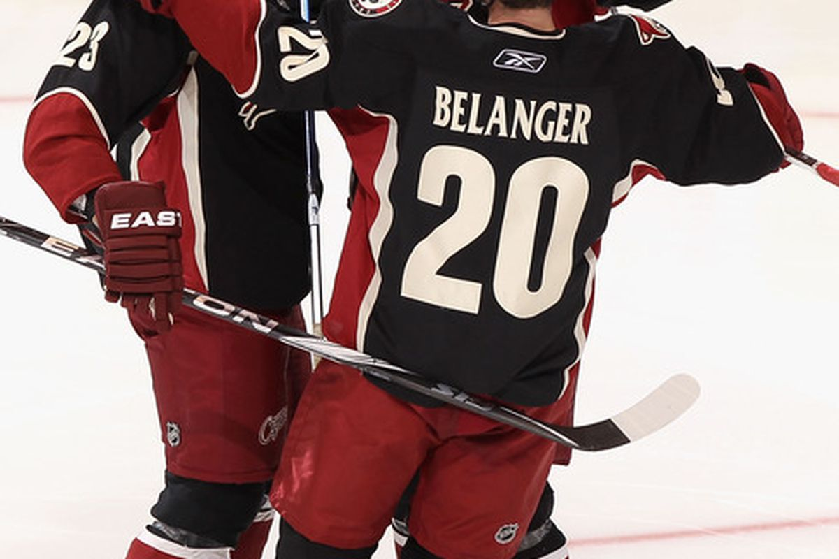 If we have to keep Belanger, let's get these two others as well.