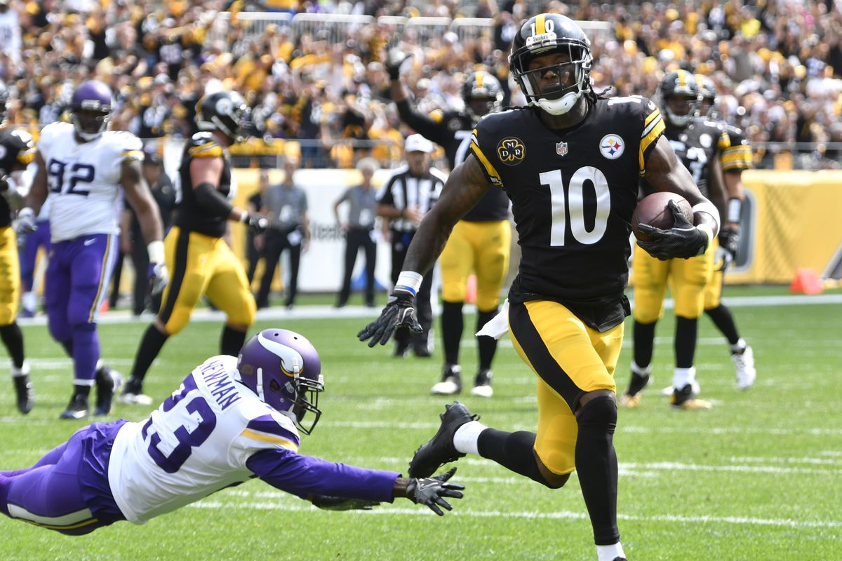 Steelers WR Martavis Bryant, targeted twice in win, 'wants out'