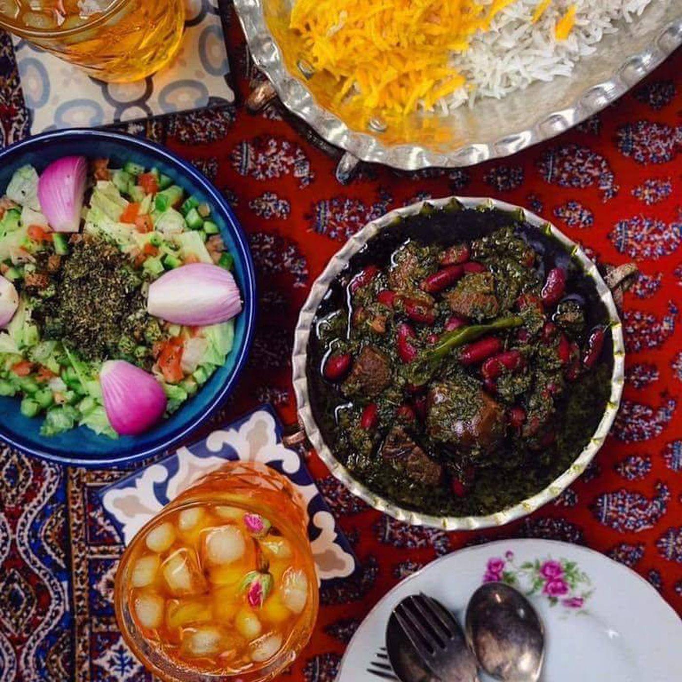 Online Grocery Persian Basket In Marietta Sells Prepared
