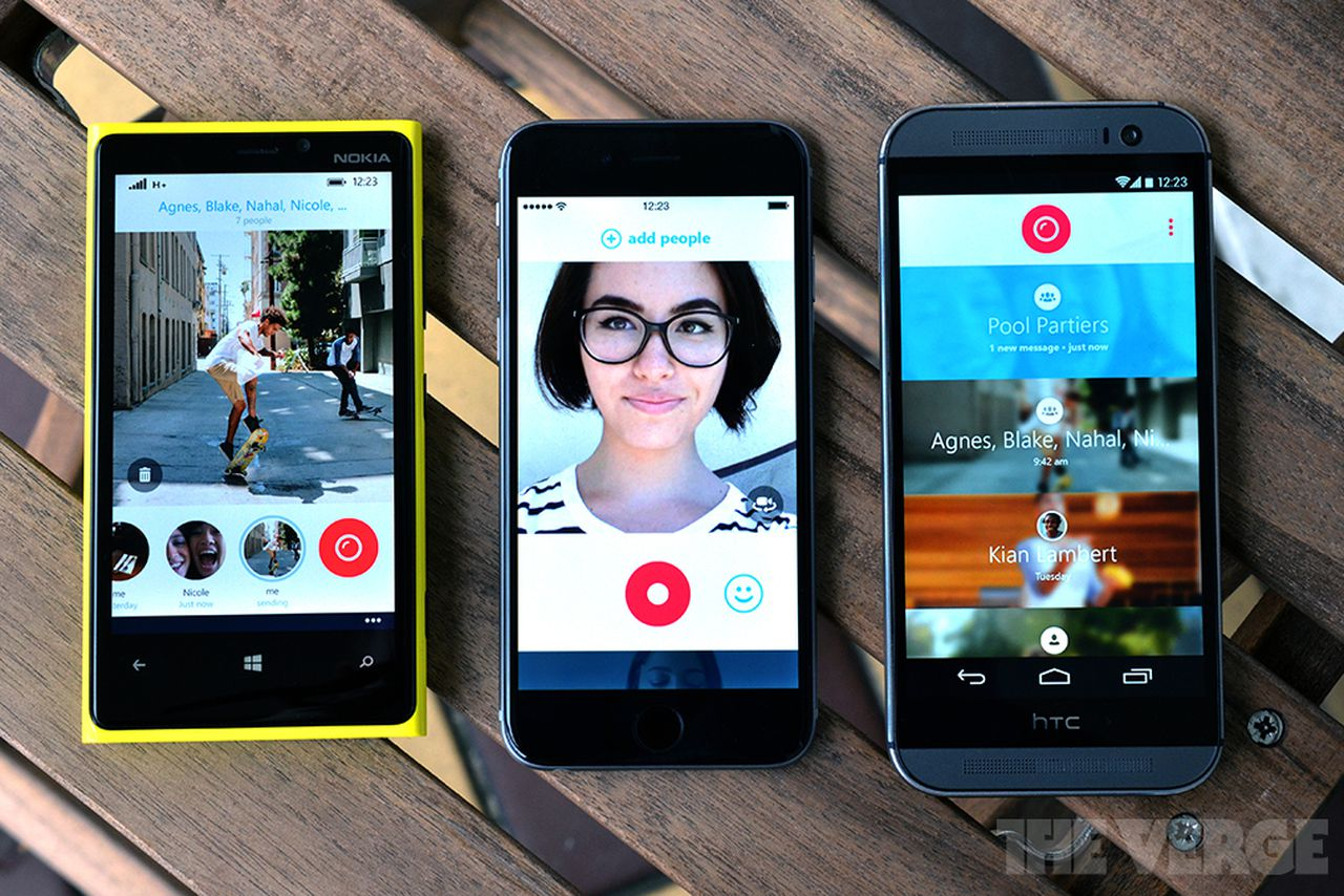 Skype Qik Aims To Take Over Mobile Video Messaging The Verge